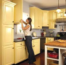 Painting Old Kitchen Cabinets White by Ideas Painting Kitchen Oak Cabinets Colors To Paint Old Kitchen