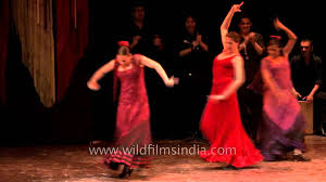 spanish group performs flamenco dance at iccr youtube