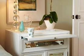 nightstands mirrored writing desk mirror night stands for the