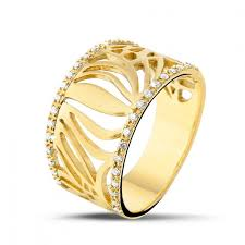 rings design yellow gold diamond rings 0 17 carat diamond design baunat