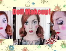 baby doll halloween makeup tutorial by cherry dollface youtube