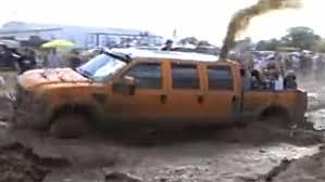 six door ford truck 6 door 6 4 powerstroke in the mud the