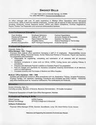 Resumes For Office Jobs by Medical Office Manager Resume Berathen Com