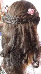 Cute At Home Hairstyles by Howto Do Cute Princess Hairdo At Home Simple Hair Bandana Braide