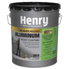 Sta Kool Elastomeric Roof Coating by Henry Roofing Primers Roof Coatings The Home Depot