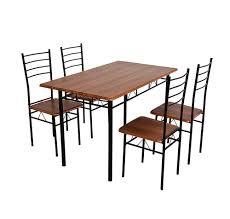Nilkamal Sofa Price List Buy Nilkamal Texas 4 Seater Dining Set Brown Online At Home