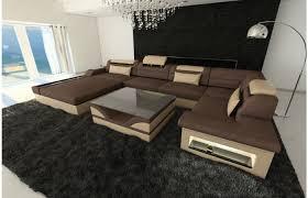 wohnlandschaft u form mit schlaffunktion couchgarnitur u form hause deko ideen