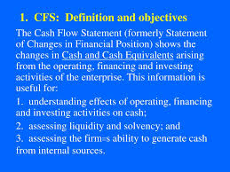 objectives of cash flow statement ppt fa2 module 3 cash flow statement powerpoint presentation cfs definition and objectives the cash flow statement