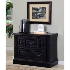 Black 2 Drawer Lateral File Cabinet House Venezia 2 Drawer Lateral File Cabinet In Vintage