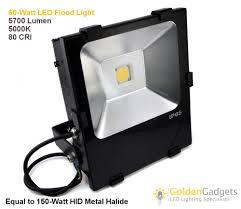 gearlite led 12v low voltage outdoor led flood 5700 lumen 60w