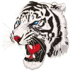 000 backpatch white tiger patches roxie rebel