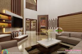 dining area and living interior designs kerala home design and