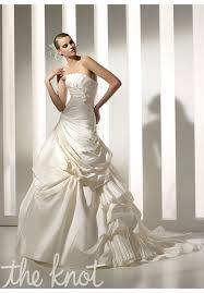 pronovias melbourne wedding dress the knot