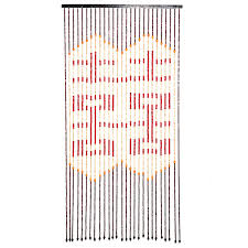 beautiful home decor bamboo beaded curtain door screen divider