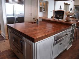 Kitchen Island Counters Walnut Custom Wood Countertops Butcher Block Countertops