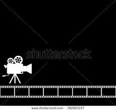 camera reel wallpaper blank black cinema background old camera stock vector hd royalty