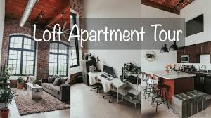 industrial loft apartment tour youtube
