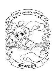 kiki u0027s delivery service chibi by mello l on deviantart