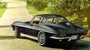 what year was the split window corvette made 1963 chevy corvette history