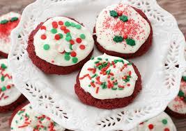 red velvet christmas cookies krusteaz cookies pinterest