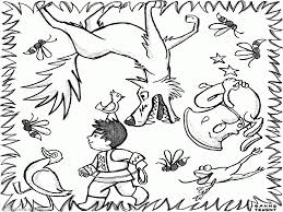 peter and the wolf coloring pages angry wolf and peter coloring