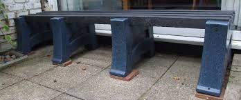Heavy Duty Garden Bench Garden Bench Seat Recycled Plastic 2m Long Heavy Duty In