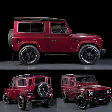 red land rover defender montalcino red sadly only one remaining antiurban