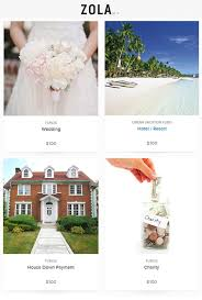 online wedding gift registry the all new online wedding gift registry from zola junebug weddings
