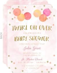 ballerina baby shower invitations ballerina themed baby shower
