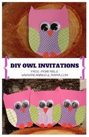 owl birthday invitations free