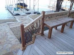 deck stairs railing deck railing mountain laurel handrails
