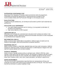 sample of job description of cnc programmer http resumesdesign
