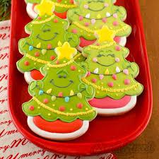 how to make christmas tree cookies christmas tree cookies
