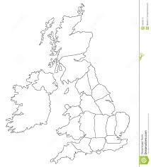 Empty Map Of Africa by Outline Map Of Great Britain Stock Photos Image 18378173