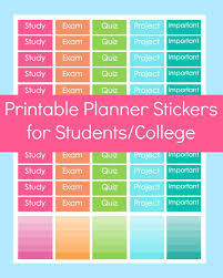 printable organization quiz for students clear distinct labels help keep students on track simple print and
