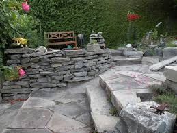 stone borders edging home depot lawn ideas wood landscaping the