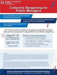 Ku Edwards Campus Map Collective Bargaining For Public Managers Public Management Center
