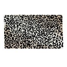 Brown Bathroom Rug by Leopard Bathroom Rug Roselawnlutheran