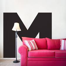 large letter wall decal pretty much perfect for absolutely any large letter wall decal pretty much perfect for absolutely any room even a studio