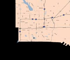 Traffic Map Chicago by Travel Midwest Des Moines Map