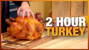rach s secret for cooking your turkey in only two hours rachael