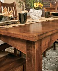 Amish Dining Tables Kitchen Wonderful Breakfast Table Amish Coffee Table Custom