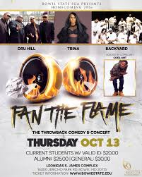 the flames were too to fan at bowie state u0027s homecoming