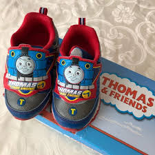 thomas the train light up shoes other thomas friends light up sneakers poshmark