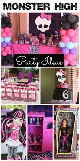 halloween party ideas for teens best 25 monster high party ideas on pinterest monster high