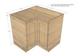 kitchen corner base cabinet options