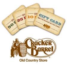cracker barrel gift card cracker barrel gift cards