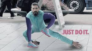 Shia Labeouf Meme - shia labeouf posed mildly ridiculously for a nike ad the interweb