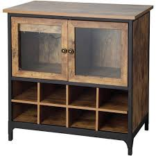 rustic wine cabinets furniture better homes and gardens rustic country wine cabinet pine walmart com