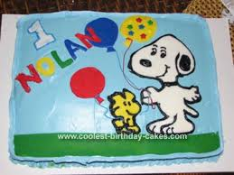 snoopy cakes coolest snoopy cake